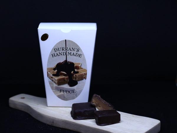 chocolate coated fudge