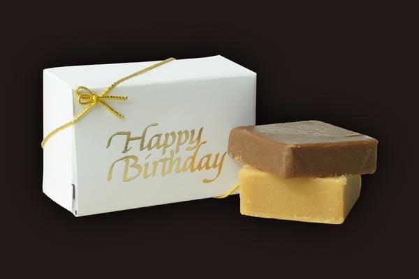 happy birthday fudge