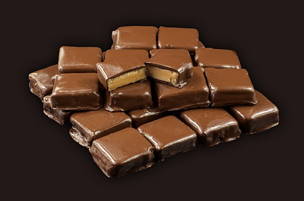 Chocolate Coated Fudge Per KG bulk