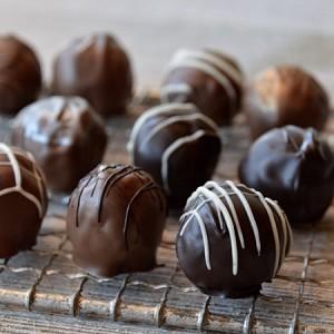 fudge truffles